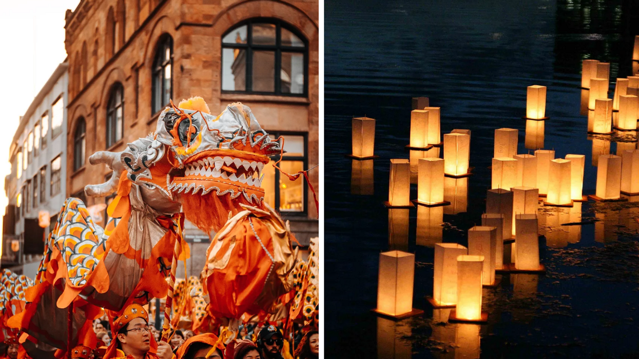 Toronto Is Having A Mid-Autumn Fest This Weekend With Floating Lanterns & Fusion Food