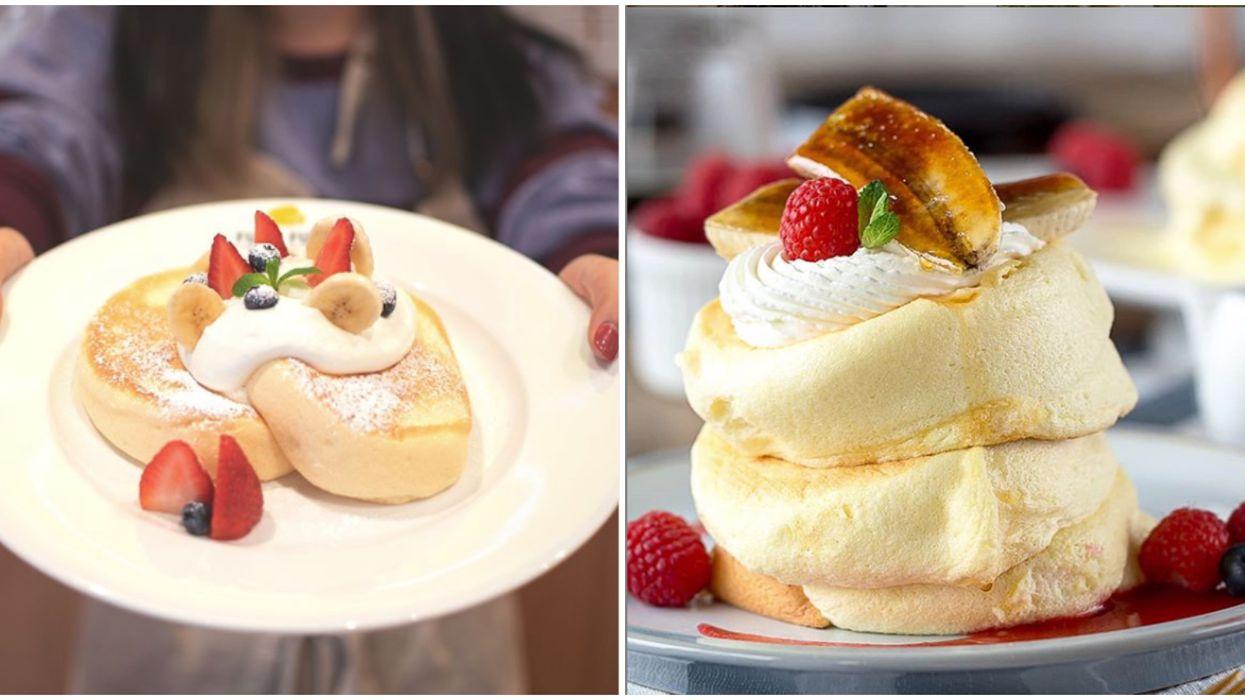 Toronto's Fuwa Fuwa Pancakes Newest Location Has Tiramisu & Banana Nutella Flavours