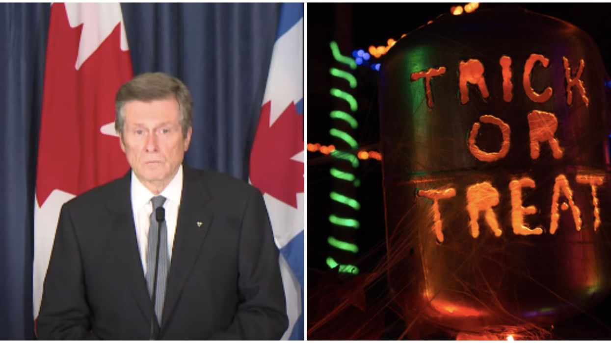 Toronto's Halloween Celebrations Could Be Cancelled This Year, Warns Mayor Tory