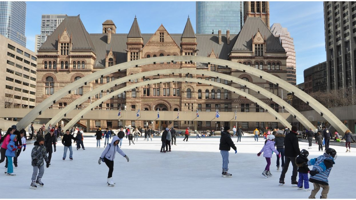 Toronto's Public Parks Plan Is Turning The City Into A Winter Wonderland For The Holidays