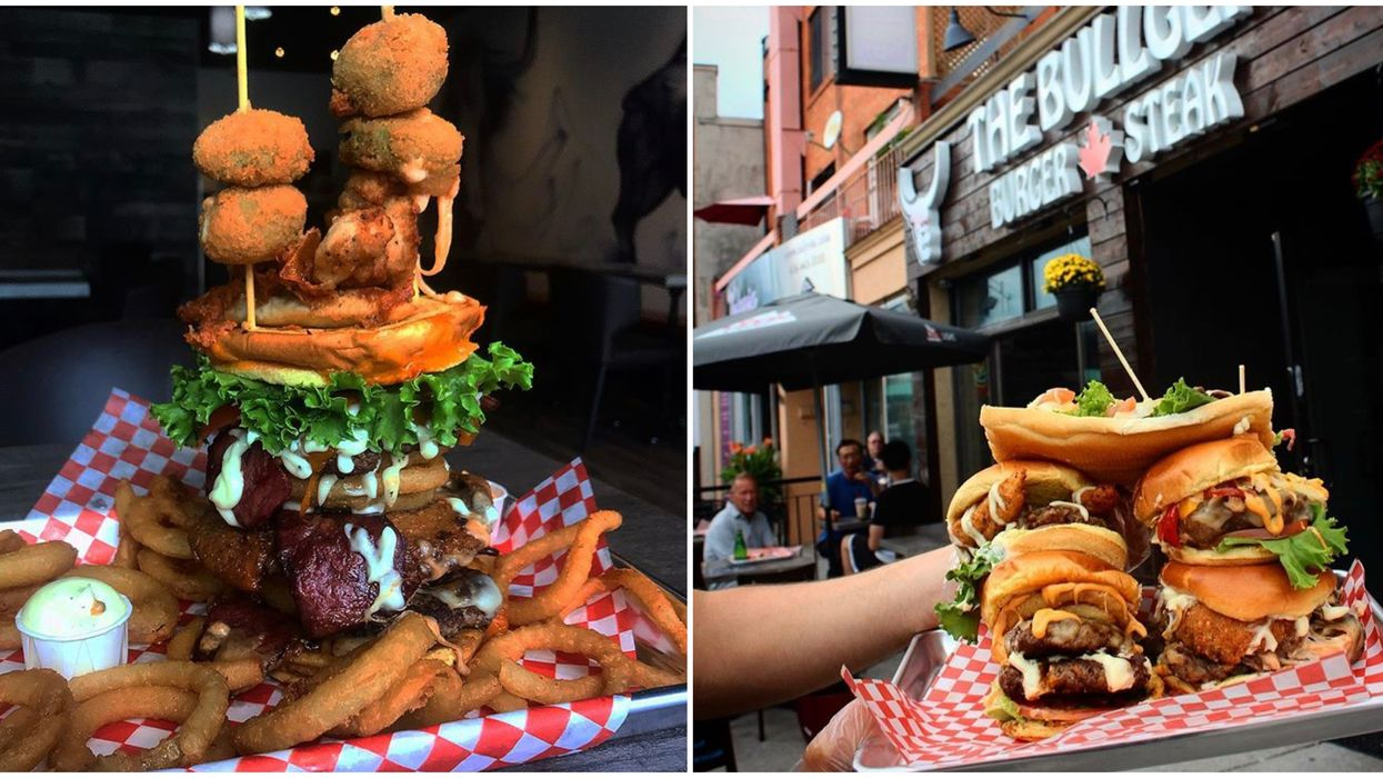 Toronto's The Bullger Serves Burgers Bigger Than Your Head