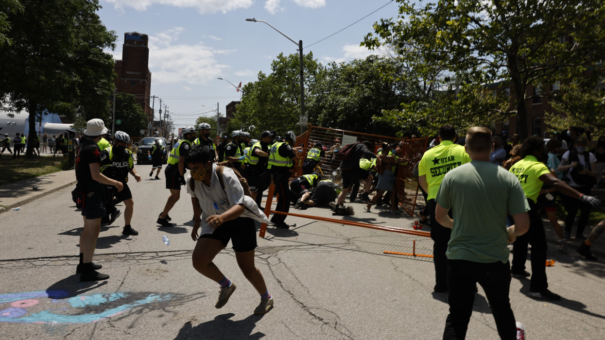 Toronto Spent Nearly $2M To Clear Out 3 Homeless Encampment Sites This Summer