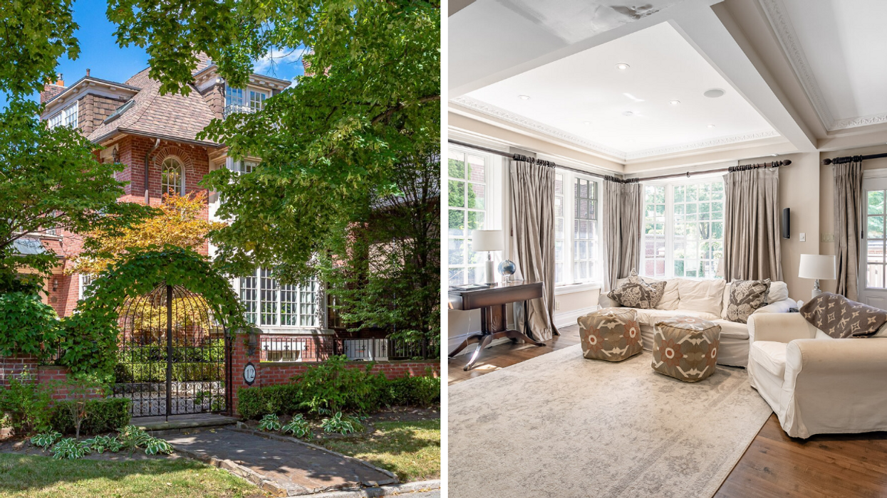 Tragically Hip Star Gord Downie's Rosedale Home Is Up For Sale & Can Be Yours For About $6M