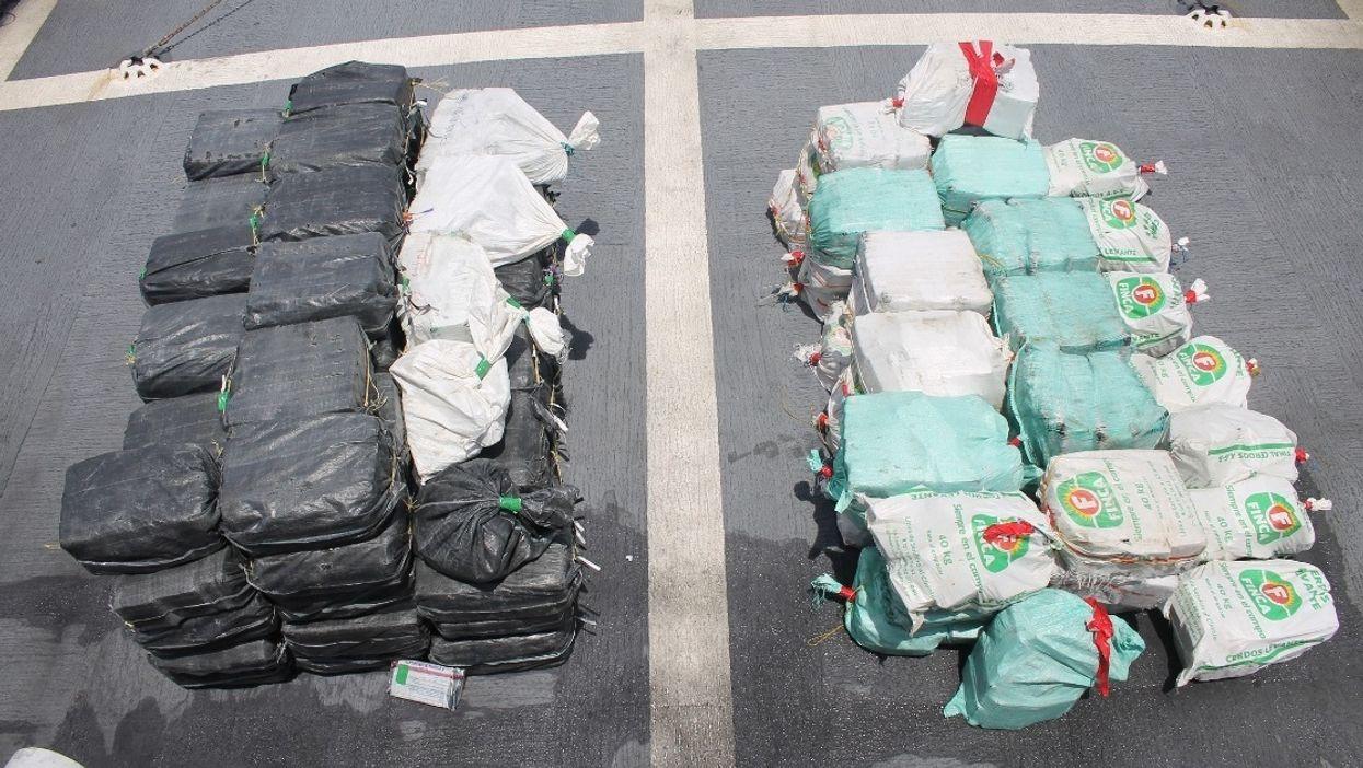 U.S. Coast Guard Seized Another $118M Of Cocaine & Offloads Cargo Near Miami