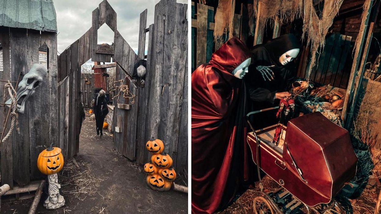 Un festival d'Halloween débarque près de Montréal avec un parcours hanté et un labyrinthe