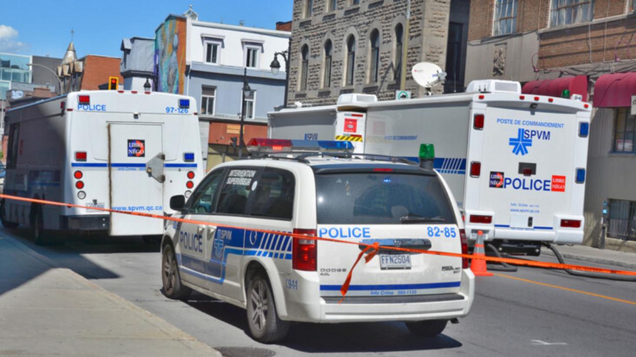 Un homme de 65 ans poignardé au centre-ville de Montréal
