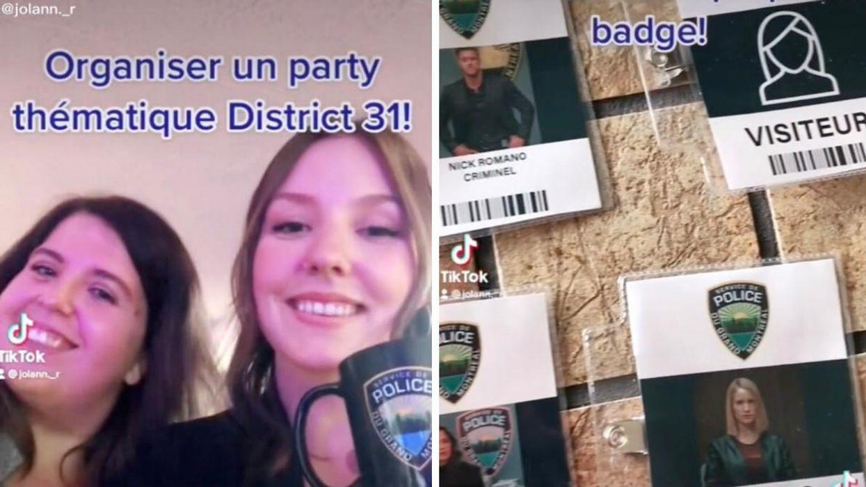 Un party « District 31 » organisé par des Québécois et c'est extra