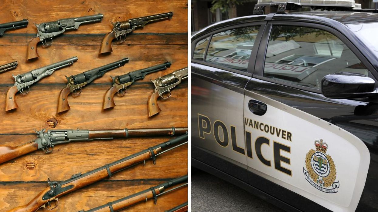 Vancouver Police Seized 174 Guns From A Senior's Home During A Wellness Check