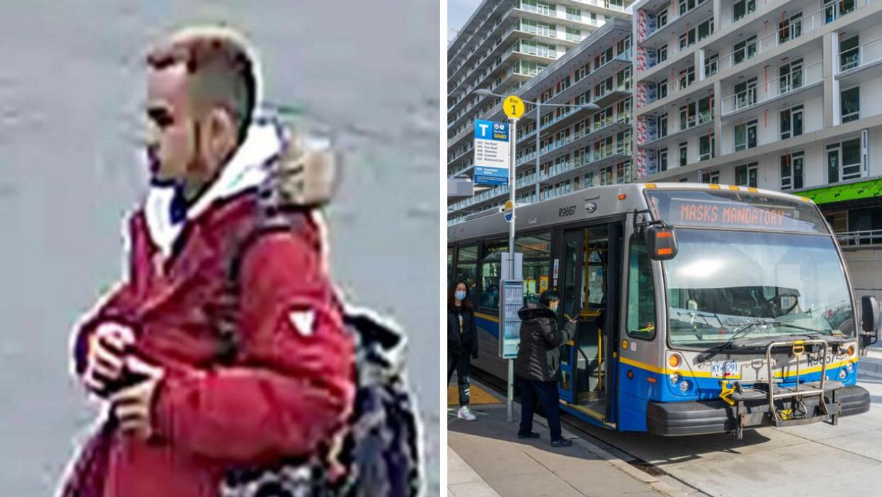 Vancouver Police Want To Speak To This Man After A 'Disturbing Attack' At A Bus Stop