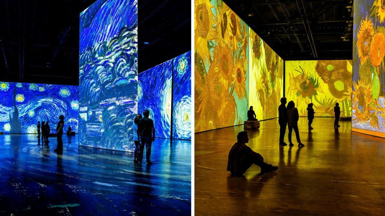 Vancouver's 'Imagine Van Gogh' Exhibition Is Literally Like Stepping Into A Painting