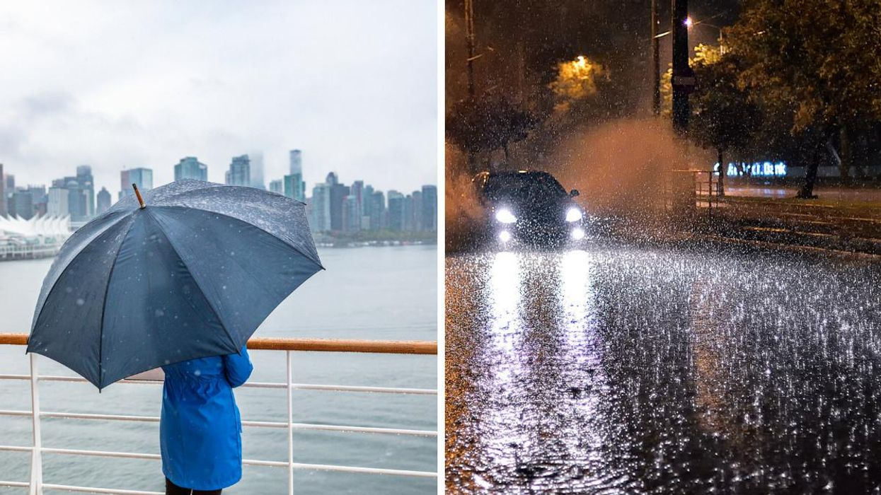 Vancouver's Weather Is About To Get Nasty & It's Going To Rain For 96 Hours Straight
