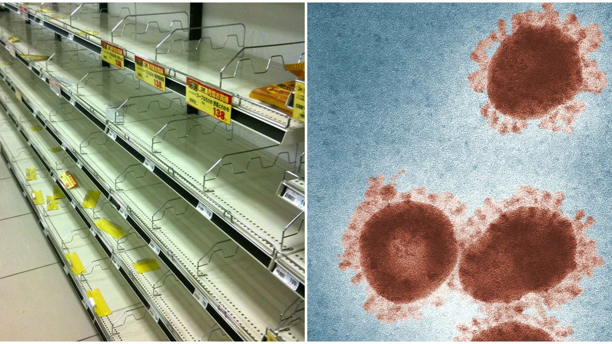 Vancouver Store Supplies Are Emptying Fast While Coronavirus Fears Spread