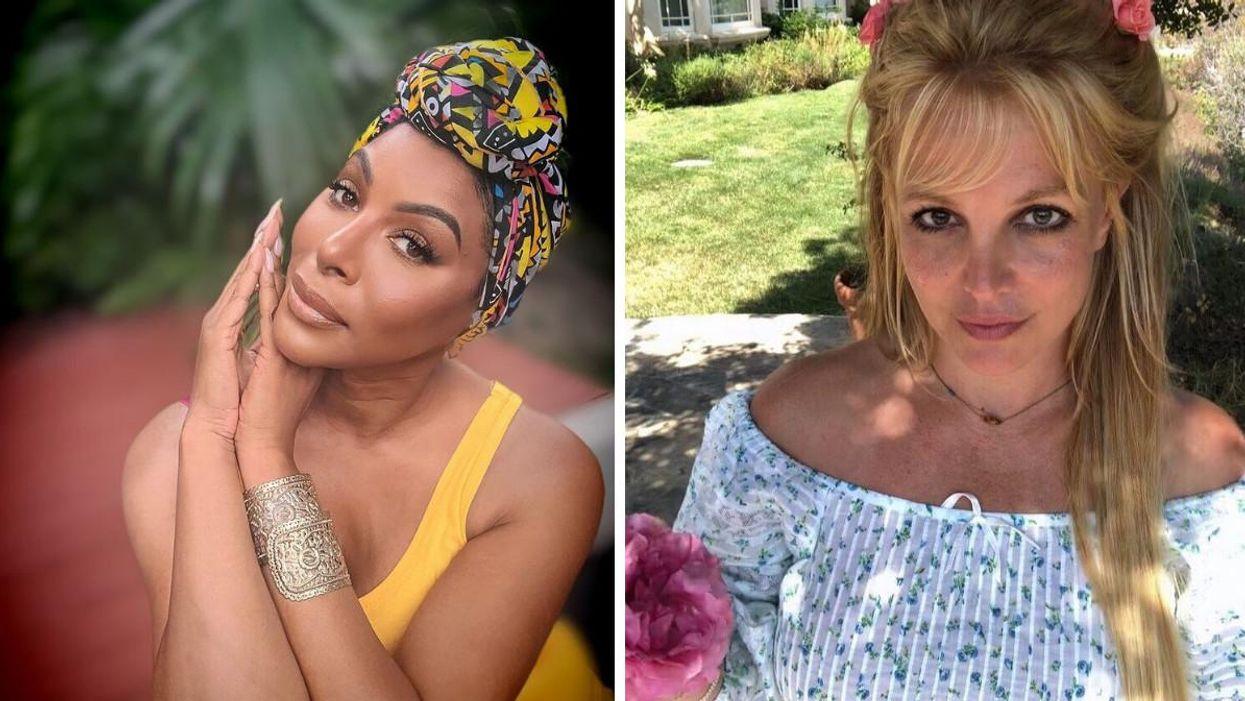 Varda Étienne partage un « throwback » épique avec Britney Spears