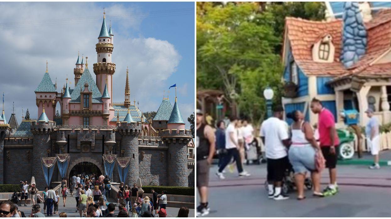 Viral Disneyland Fight Results In One Man's Prison Sentence