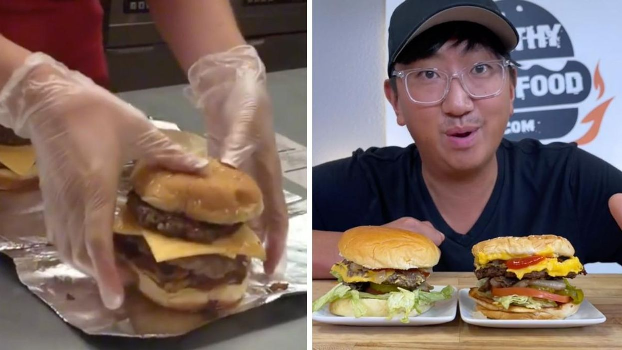 Viral TikTok Video Shows Five Guys Hack For Getting A 'Free' Cheeseburger