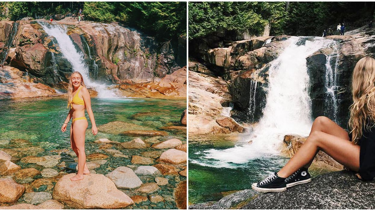 Waterfall Hike Near Vancouver: These Secret Falls Are Just 5.5 kms Away