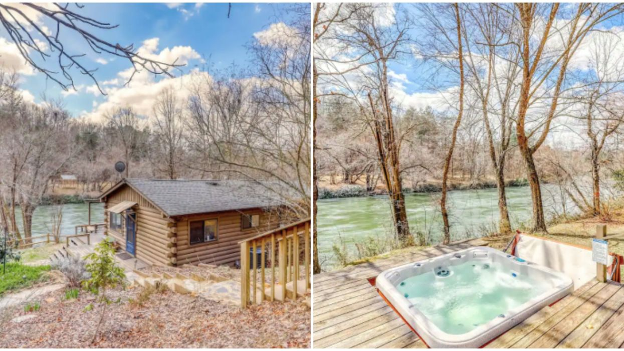 Waterfront Affordable Airbnb Rentals In Georgia Are Perfect Getaway Spots This Fall