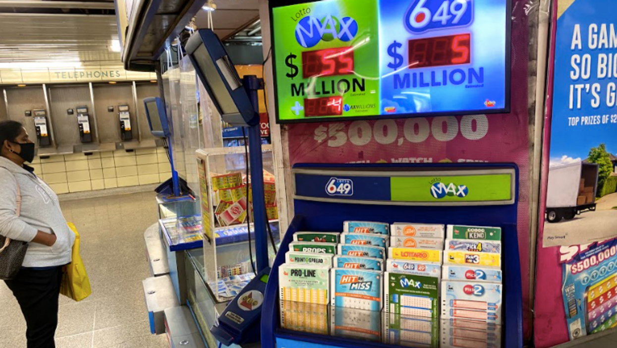 Winning Lottery Tickets In Ontario Were Sold All Over The Province This Week