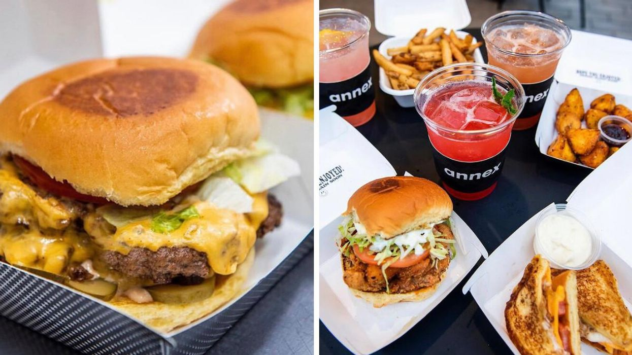 You Can Get A Secret New Burger For Free In Toronto This Weekend