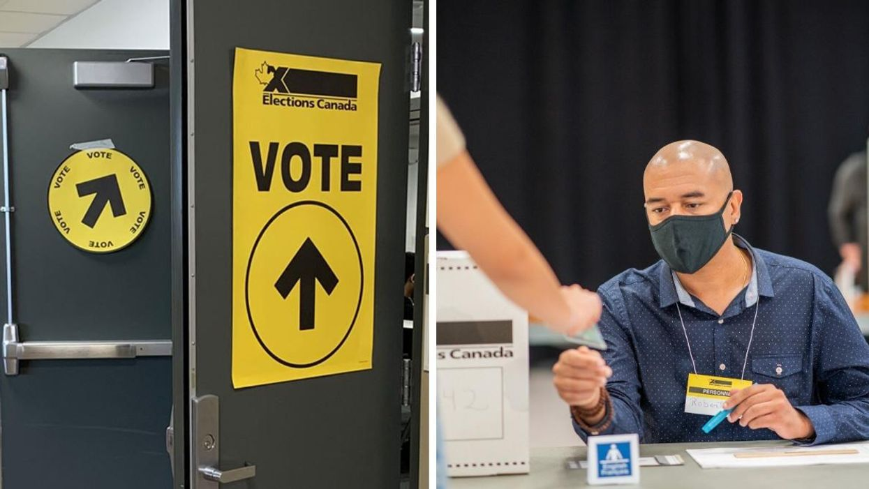 You Can Register To Vote Just By Walking Into A Polling Station On Election Day With ID
