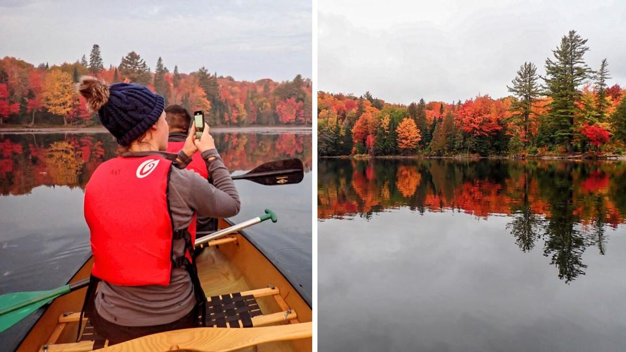 You Can See All The Fall Colours At This Stunning Ontario Canoe Tour