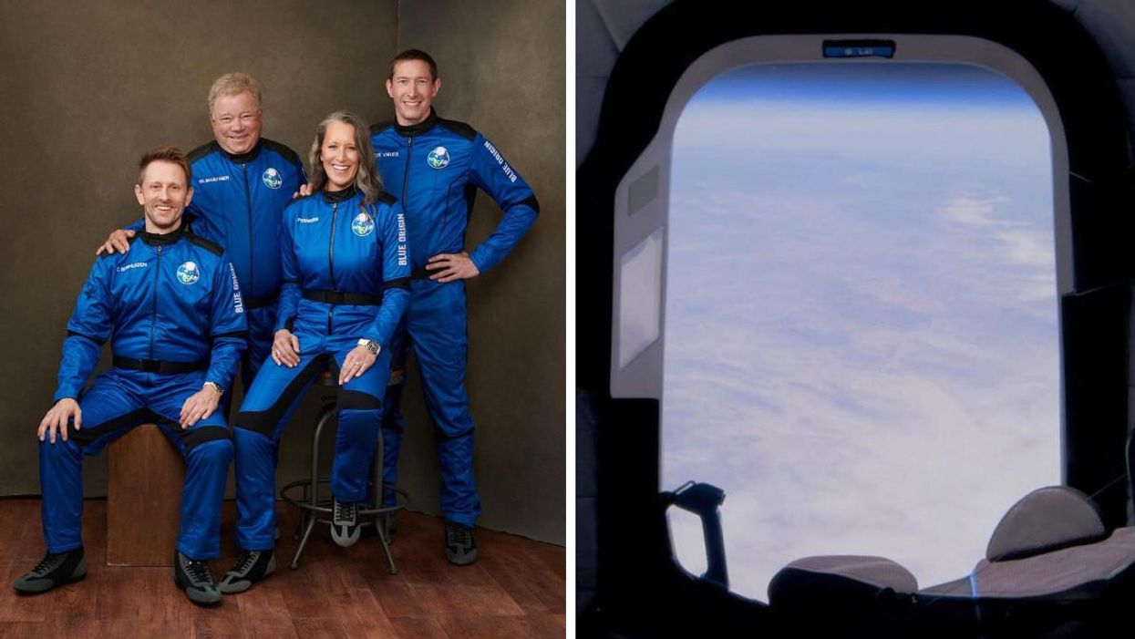 You Can Watch The Blue Origin Launch Live As William Shatner Goes To Space (VIDEO)