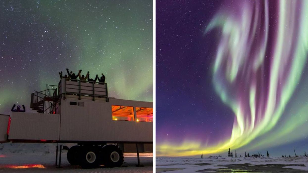 You Can Watch The Northern Lights & Dine In Style On This Epic Manitoba Adventure
