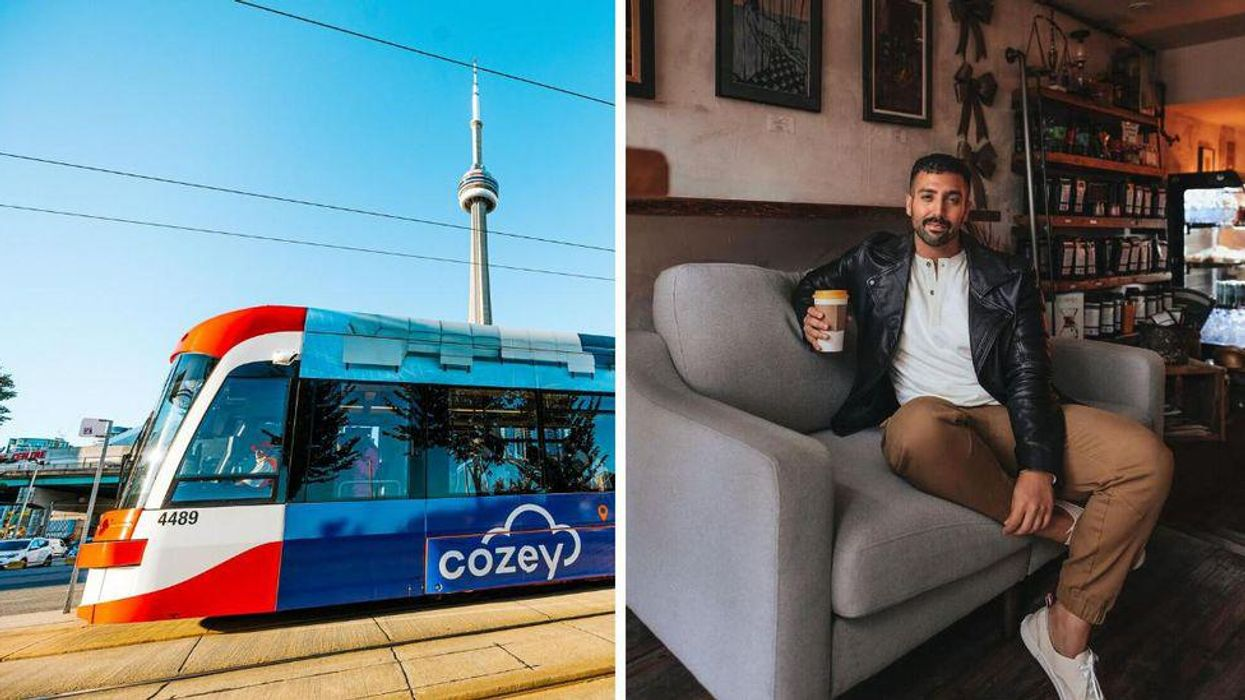 You Can Win A Free Sofa Through This Toronto Treasure Hunt & Here's What You Need To Know