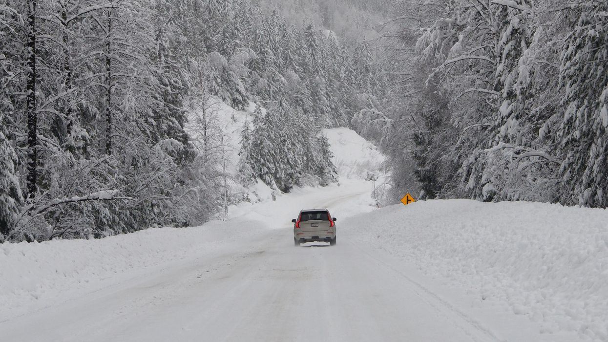 You Need To Have Winter Tires On Your Car If You're In BC Or You Could Get Fined Over $100