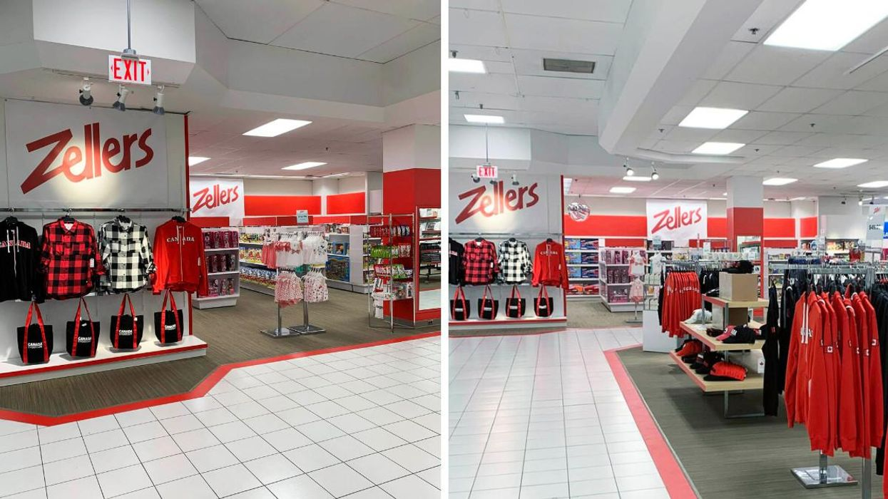 Zellers Is Back For A Pop-Up In Ontario & Suddenly It's 2001 All Over Again (PHOTOS)